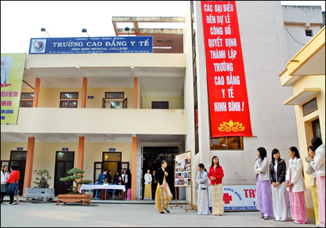 Trường cao đẳng y tế Ninh Bình