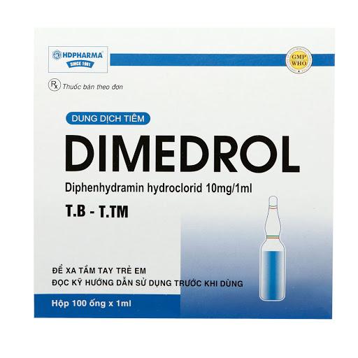 thuốc dimedrol 10mg