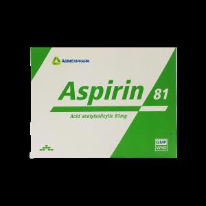 Aspirin có tác dụng hạ sốt và giảm đau hiệu quả